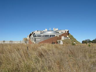 Gauteng - The Maropeng visitors centre at the Cradle of Humankind
