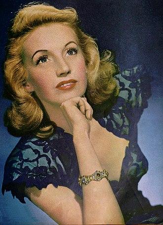 Martha Tilton - Tilton on the cover of the April 1946 issue of music magazine Radio Mirror