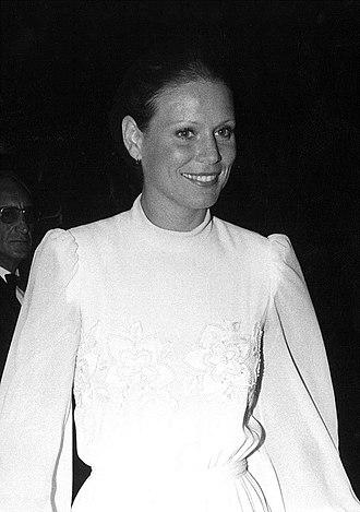 Marthe Keller - Marthe Keller in Monte Carlo in 1975