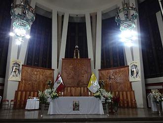San Martín de Porres District - Main Altar of National Sanctuary Saint Martin of Porras