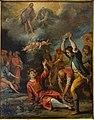Martyrdom of Saint Stephen by Giovanni Andrea De Ferrari (1598-1669), undated, oil on copper - Accademia Ligustica di Belle Arti - DSC02144.JPG
