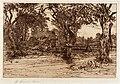 Mary Nimmo Moran-My Neighbor's Home, Easthampton 1883.jpg