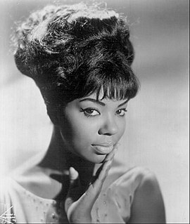 Mary Wells American pop/soul singer