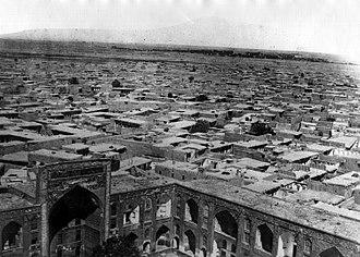 Mashhad - Mashhad in 1858
