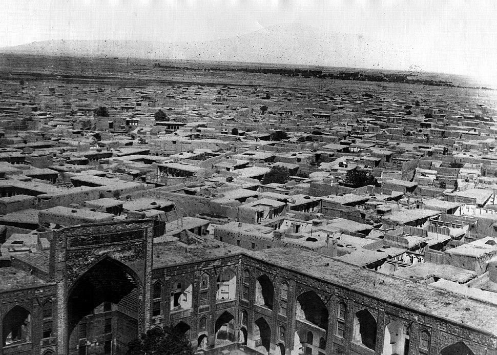 Mashhad in 1858