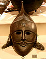 Mask of medieval azerbaijani fighter.JPG