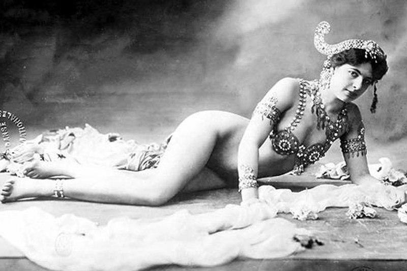 Mata Hari, en 1906.