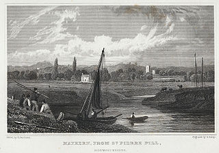 Mathern, from St. Pierre Pill, Monmouthshire