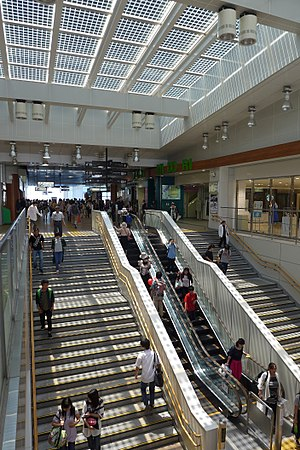 Matsumoto Station - Image: Matsumoto Station Entrance Void 201706