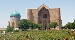 Mausoleum of Khoja Ahmed Yasawi (7519819652).jpg