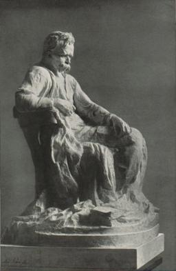 Max Klein - Friedrich-Nietzsche-Statue