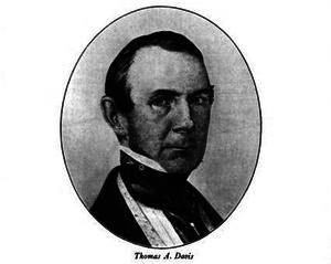 Thomas Aspinwall Davis - Image: Mayor TA Davis