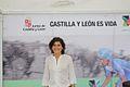 Mayte Martínez - Stand salida vuelta ciclista a España.jpg