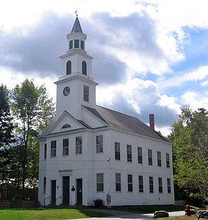 Marlboro, Vermont - the Marlboro Meeting House Congregational Church (2004)