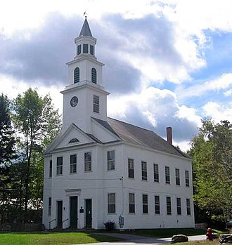 Marlboro, Vermont - the Marlboro Meeting House Congregational Church (2004)