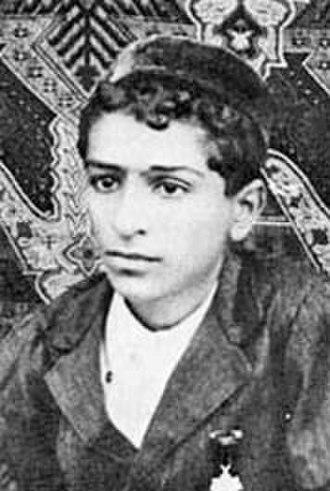 Meher Baba - Meher Baba (as Merwan Irani) at 16 years old in 1910