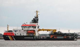 German Federal Coast Guard - The Arkona multi-purpose vessel