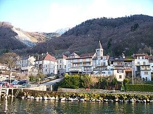Meillerie - Meillerie on the shore of Lake Geneva