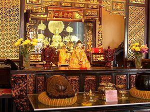 Cheng Hoon Teng - Inside the Cheng Hoon Teng temple