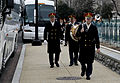 Members of U.S. Army Band arrive at the U.S. Capitol to perform during the 57th Presidential Inauguration 130121-F-AV193-003.jpg