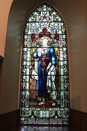 Duddingston Kirk - Memorial window to Rev John Thomson, Duddingston Kirk