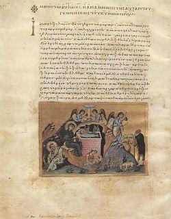 <i>Menologion of Basil II</i> Byzantine illuminated manuscript compiled c. 1000 AD