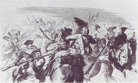 Battle of Liegnitz (1760) Menzel - Battle of Liegnitz.jpg