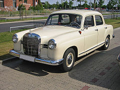 Mercedes 180 b - W120 po liftingu