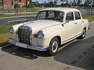 Mercedes-Benz W120 - Mercedes-Benz 180b (W120)