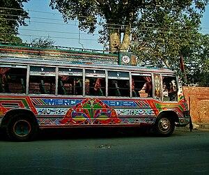 Customised buses - Customised bus in Pakistan