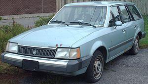 Mercury Lynx - Image: Mercury Lynx Wagon