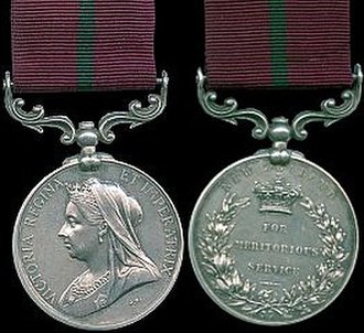 Meritorious Service Medal (New Zealand) - Queen Victoria version