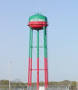 Water tower, Meskwaki Settlement