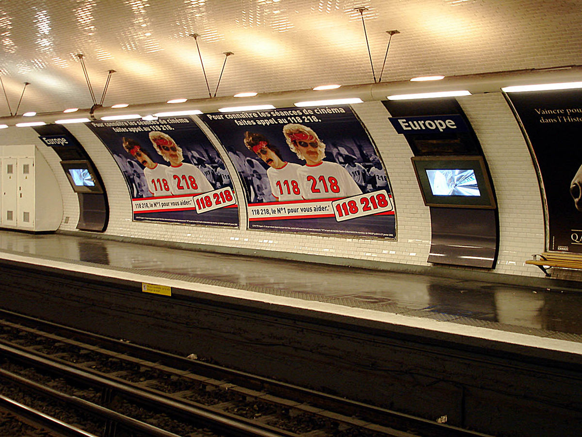 Europe (Paris Métro) - Wikipedia