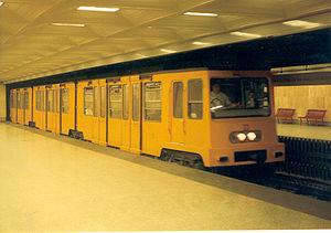 Mexikói út (Budapest Metro) - Image: Mexikoi ut budapest