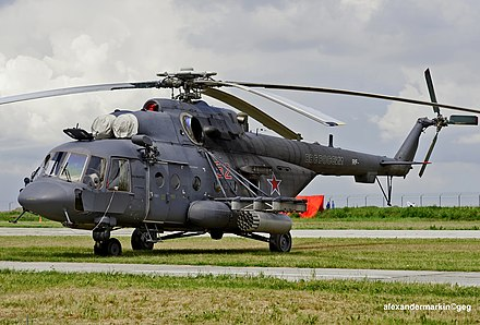 Russian Air Force Mil Mi-8AMTSh - Mil Mi-17