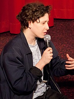 Mica Levi (Composer UNDER THE SKIN), Petra Erdmann (Moderator) (13988007916) (cropped).jpg