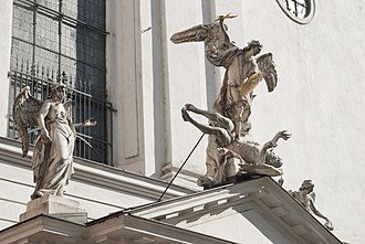 St. Michael's Church, Vienna - Image: Michaelerkirche, Wien