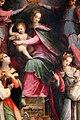 Michele tosini, madonna col bambino incoronata dagli angeli tra le ss. agnese e cecilia e novizi domenicani 03.jpg