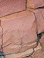 Microsyenite dike (Precambrian; Michipicoten River Bridge South roadcut, south of Wawa, Ontario, Canada) 27 (47924872646).jpg
