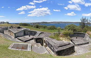 Sydney Harbour Defences Wikipedia