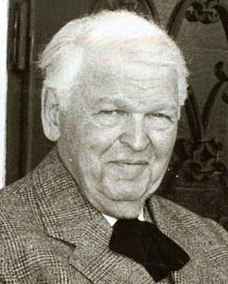 Mihail Sadoveanu - Photograph of the aging Sadoveanu