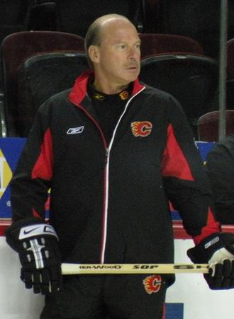 Mike Keenan - Keenan, seen here in 2008 as the head coach of the NHL's Calgary Flames