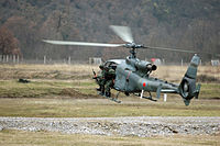 Military of Montenegro training3 gazelle.jpg