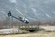 Montenegrin Special Forces' Aérospatiale Gazelle