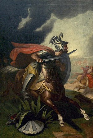 Battle of Kosovo - Miloš Obilić, the alleged assassin of Sultan Murad I.