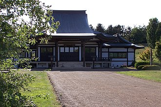 Japanese in the United Kingdom - The Nipponzan-Myōhōji temple in Milton Keynes