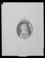 Miniatyrporträtt av konung Karl XI av Sverige (1655-1697) som barn, ca 1662 - Livrustkammaren - 27992.tif