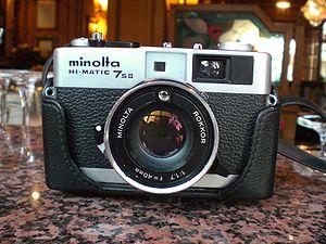 Minolta Hi-Matic - The Hi-Matic 7 SII of 1977