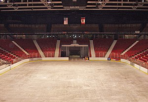 "Winter Olympic Games - The Herb Brooks Arena in Lake Placid (c. 2007), site of the ""Miracle on Ice"" in 1980"